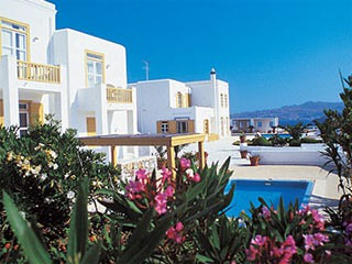 Ornos Beach Hotel Mykonos Greece