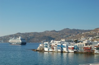 Little Venice Mykonos Island Greece