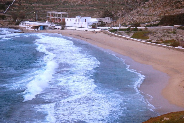 MEGALI AMMOS BEACH MYKONOS WINTER