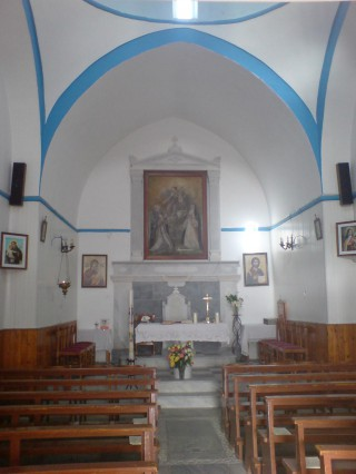 Catholic Church of Mykonos Virgin of St. Rosary