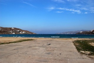 Korfos Beach Mykonos beaches Greece