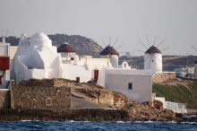 CHURCH OF PANAGIA PARAPORTIANI AT MYKONOS