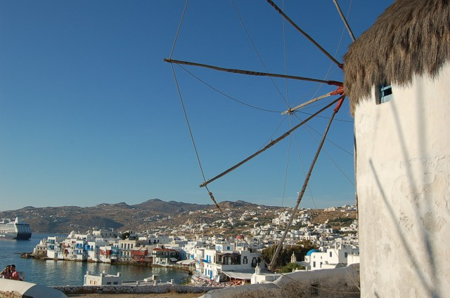 LITTLE VENICE WINDMILL MYKONOS