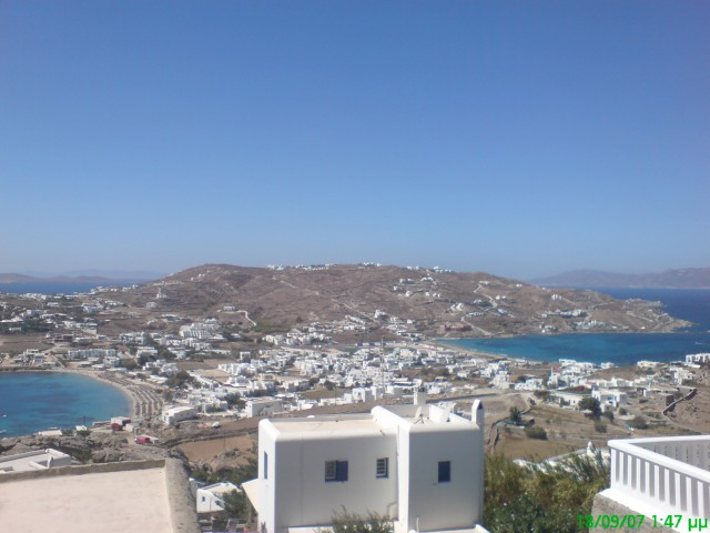 ORNOS AND KORFOS BAY MYKONOS